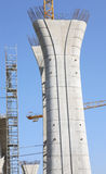 бетон колонки Стоковое Изображение RF