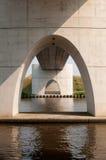 бетон моста Стоковое фото RF