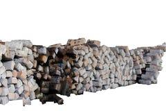Бетон слипера железной дороги на белой предпосылке стоковая фотография rf