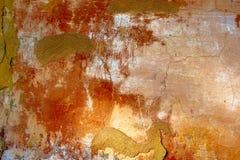 бетон трескает старую стену Стоковые Изображения