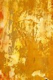 бетон трескает старую стену Стоковая Фотография