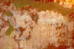 бетон трескает старую стену Стоковое Изображение