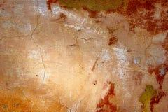 бетон трескает старую стену Стоковые Изображения RF