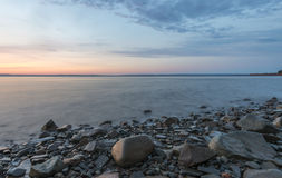 Бечевник на восходе солнца Стоковая Фотография RF