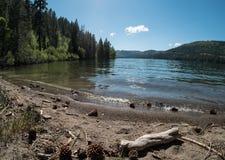 Бечевник озера Donner стоковое фото rf