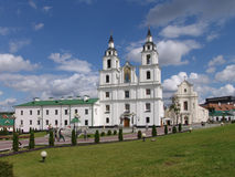 Беларусь minsk Собор святого духа стоковое фото rf