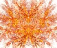 Белая абстрактная предпосылка с взрывать текстуру красного огня Orang иллюстрация штока