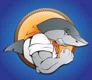 Белая акула Стоковое Изображение RF