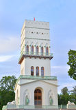 Белая башня в Tsarskoe Selo Стоковые Фото