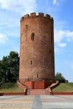 Белая башня (Belaya Vezha) - башня крепости тринадцатого века стоковое изображение rf