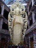 Белая богиня статуи пощады Стоковая Фотография RF