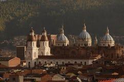Белая большая церковь Стоковое фото RF