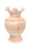 Белая ваза стоковые изображения