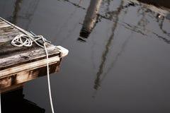 Белая веревочка Стоковые Фотографии RF