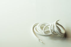 Белая веревочка Стоковые Изображения RF