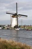 Белая ветрянка стоковая фотография rf