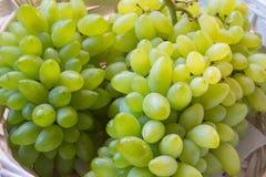 Белая виноградина - Pizzutello стоковое фото rf