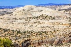 Белая гора Юта песчаника Стоковая Фотография RF