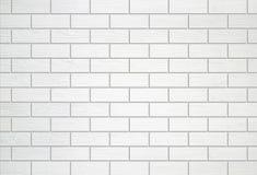 Белая деревянная предпосылка текстуры стены Стоковые Фотографии RF