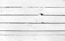 Белая деревянная предпосылка Стоковая Фотография