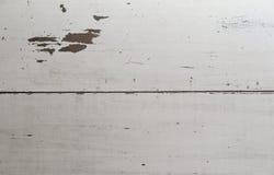 Белая деревянная предпосылка Стоковые Изображения