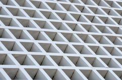 Белая деревянная решетка Стоковое фото RF
