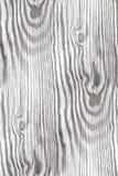 Белая деревянная текстура - безшовная предпосылка Стоковое Изображение