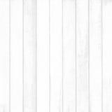Белая деревянная текстура планки стены для предпосылки Стоковая Фотография