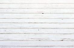 Белая деревянная текстура с естественной предпосылкой картин Стоковая Фотография RF