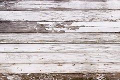 Белая деревянная текстура с естественной предпосылкой картин Стоковое Изображение