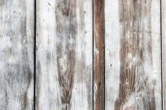 Белая деревянная текстура с естественной предпосылкой картин Стоковая Фотография