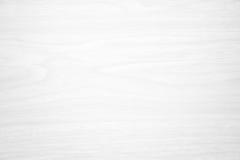 Белая деревянная текстура для предпосылки Стоковая Фотография