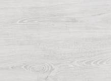 Белая деревянная текстура Стоковые Изображения