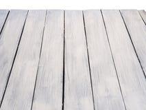 Белая деревянная текстура Стоковые Фото