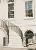Белая лестница Стоковое фото RF