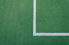 Белая линия край поля стоковая фотография