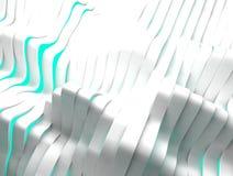 Белая и зеленая абстрактная предпосылка Стоковое Фото