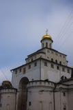 Белая каменная церковь Стоковое Фото