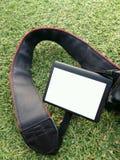 Белая камера монитора дисплея LCD Стоковое Изображение