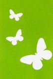 Белая картина бабочки. Стоковое фото RF