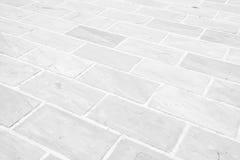 Белая картина пола камня grunge Стоковое Изображение