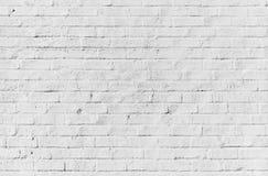 Белая кирпичная стена, безшовная текстура Стоковые Изображения