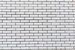 Белая кирпичная стена, текстура предпосылки Стоковая Фотография RF