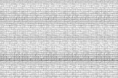 Белая кирпичная стена для предпосылки или текстуры Стоковые Изображения