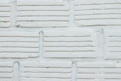 Белая кирпичная стена Стоковые Изображения RF