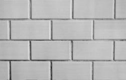 Белая кирпичная стена Стоковое Изображение