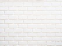 Белая кирпичная стена grunge Стоковые Изображения RF