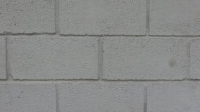 Белая конкретная предпосылка кирпичной стены стоковые фотографии rf
