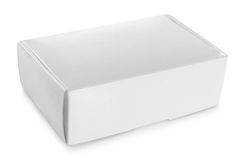 Белая коробка Стоковые Изображения RF