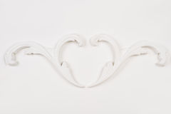 Белая красивая штукатурка Стоковая Фотография